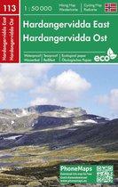 F&B 113 Hardangervidda East Phonemap