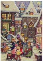 Adventskalender Kerstzangers (geen chocolade)