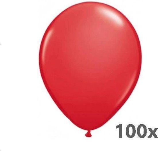 Belbal B105 - Ballonnen rood 40 cm (100 stuks)