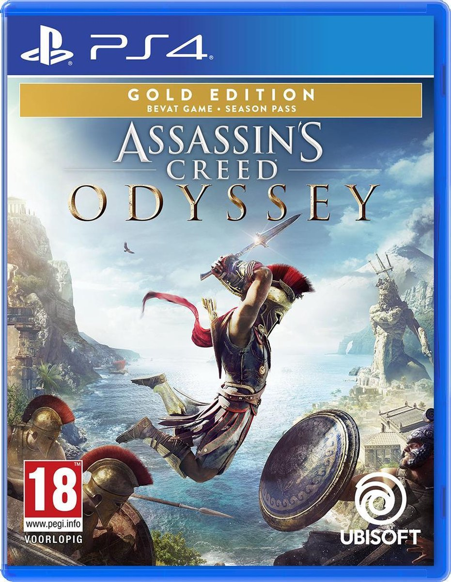 Assassin's Creed: Odyssey – Gold Edition - PS4 - Ubisoft