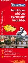 Michelin wegenkaart 755 Tsjechische Republiek