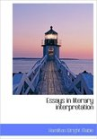 Essays in Literary Interpretation