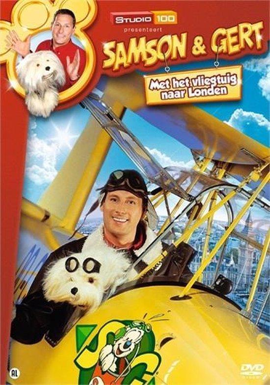 Cover van de film 'Samson & Gert - Met Het Vliegtuig Naar Londen'