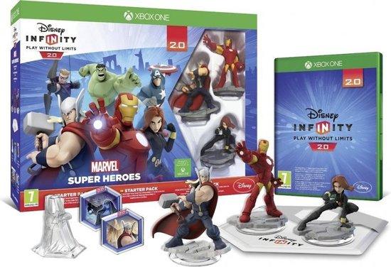 Disney Infinity 2.0 Marvel Super Heroes Starter Pack /Xbox One