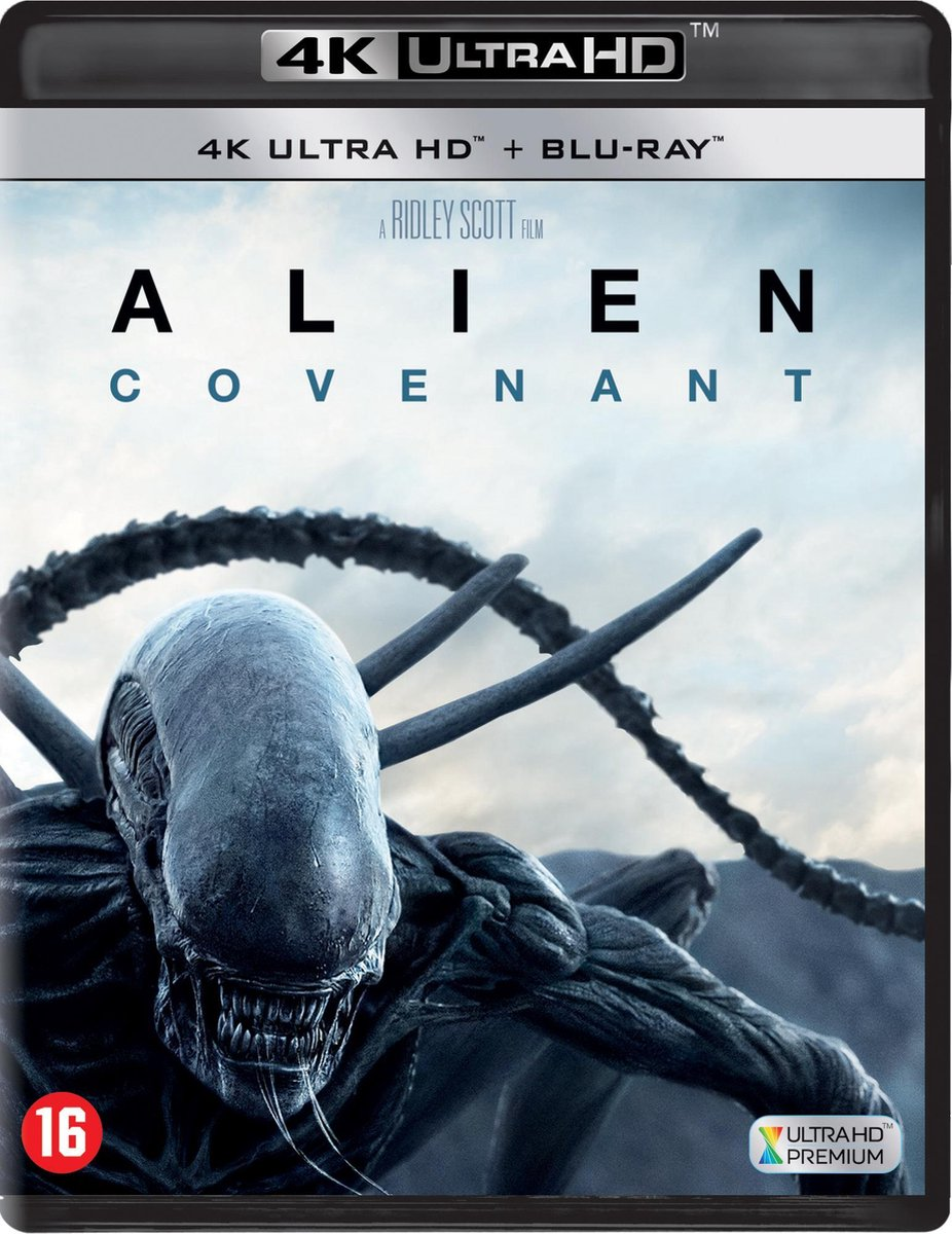 Alien : Covenant (4K Ultra HD Blu-ray)-