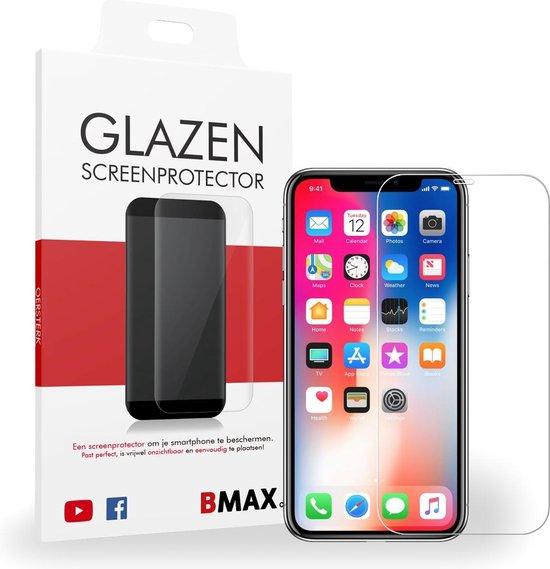 BMAX Glazen Screenprotector iPhone X - BMAX