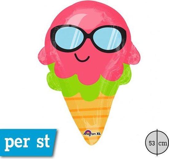 Folieballon fun ice cream JuniorShape