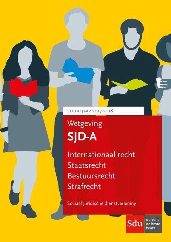 Educatieve wettenverzameling - Wetgeving SJD-A set van 2 - none |