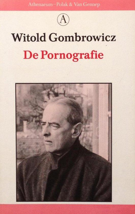 Boek cover De Pornografie van Witold Gombrowicz (Onbekend)