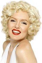 Marilyn Monroe krullen pruik