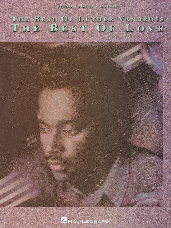 Boek cover The Best Of Luther Vandross (Songbook) van Luther Vandross (Onbekend)