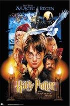 Harry Potter and the Sorcerer's Stone poster Harry Potter en de Steen der Wijzen film 61x91.5cm.