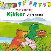 Boek cover Kikker viert feest van Max Velthuijs
