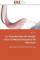 La Transform�e de Hough Pour La Reconnaissance de L �criture
