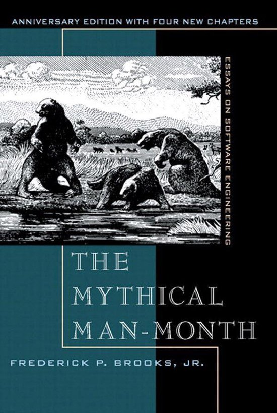Boek cover Mythical Man-Month, Anniversary Edition, The van Frederick Brooks Jr. (Onbekend)