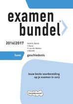 Examenbundel havo Geschiedenis 2016/2017