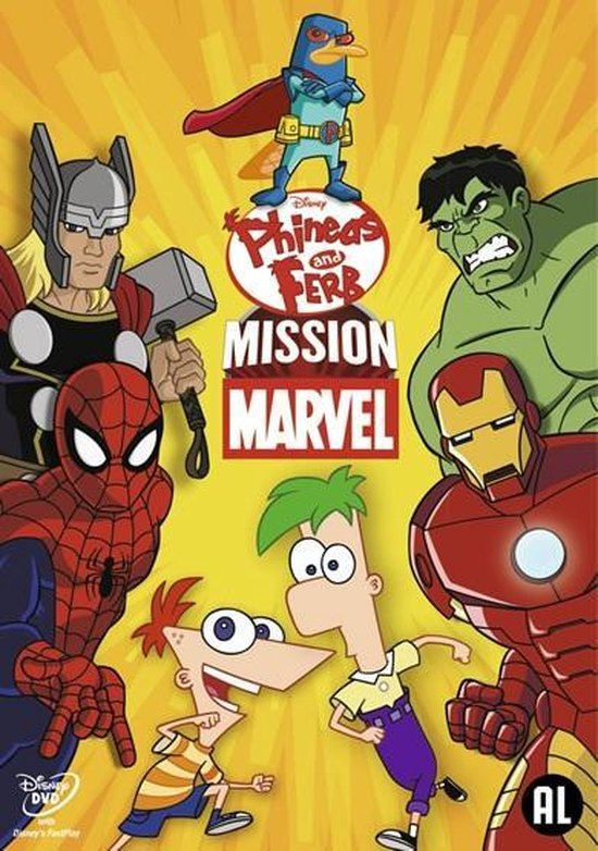 Cover van de film 'Phineas And Ferb - Mission Marvel'