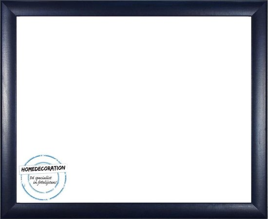 Homedecoration Colorado – Fotolijst – Fotomaat – 38 x 66 cm – Donker blauw