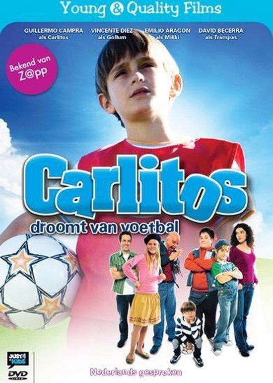 Cover van de film 'Carlitos Droomt Voetbal'