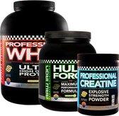 RAW IRON® Bodybuilding pakket-Vanille |Fitness supplementen