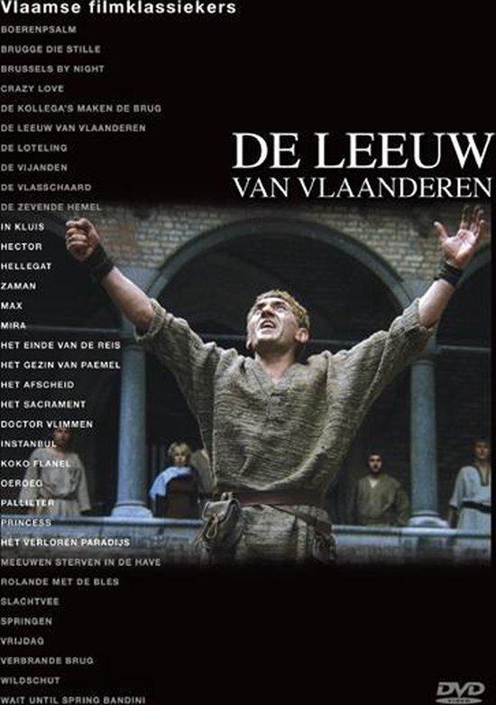 Cover van de film 'De Leeuw Van Vlaanderen'