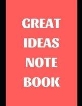 Great Ideas Notebook