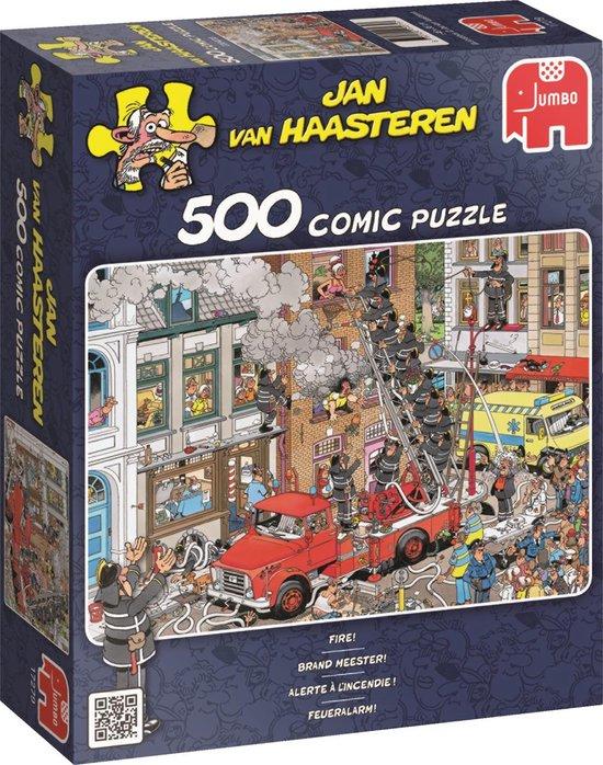 Puzzel Jan van Haasteren Brand Meester! 500  Stukjes