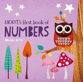 Boek cover Hoots First Book of Numbers van Rowena Blyth