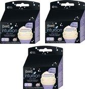 Wilkinson Intuition Dry Skin Scheermesjes - Voordeelverpakking 3 x 3 Stuks