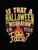 Halloween Joke Composition Notebook College Ruled