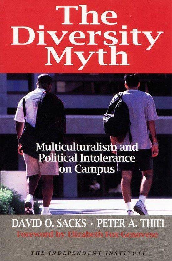 Boek cover Diversity Myth van David Sacks (Onbekend)