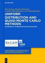 Uniform Distribution and Quasi-Monte Carlo Methods