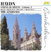 Haydn: String Quartets Vol 2 / The Lindsays
