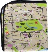 Picknickkleed met de plattegrond van London