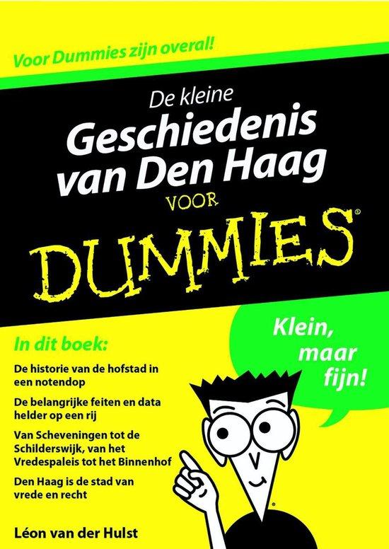 Voor Dummies - De kleine geschiedenis van Den Haag voor Dummies - Léon van der Hulst pdf epub