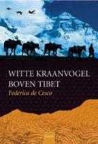 Witte Kraanvogel Boven Tibet