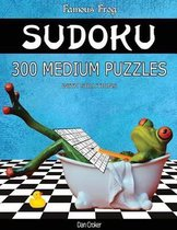 Famous Frog Sudoku 300 Medium Puzzles with Solutions