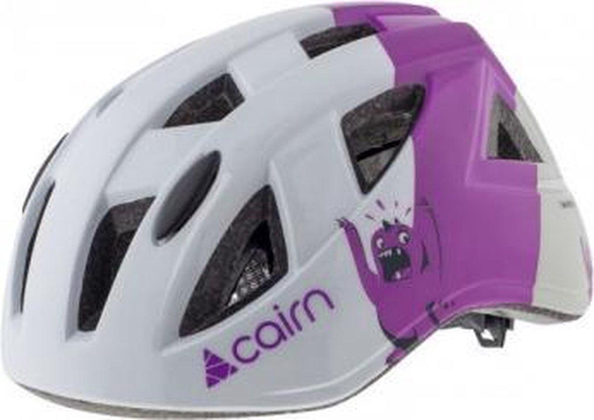 Cairn - Gozz junior - fiets-/skate helm - Purple - Maat 48-52