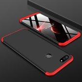 Mobigear 360 Hardcase Zwart / Rood Xiaomi Mi 8 Lite