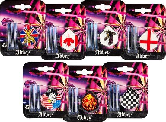 Afbeelding van het spel Abbey Darts Flights & Shafts - Universeel