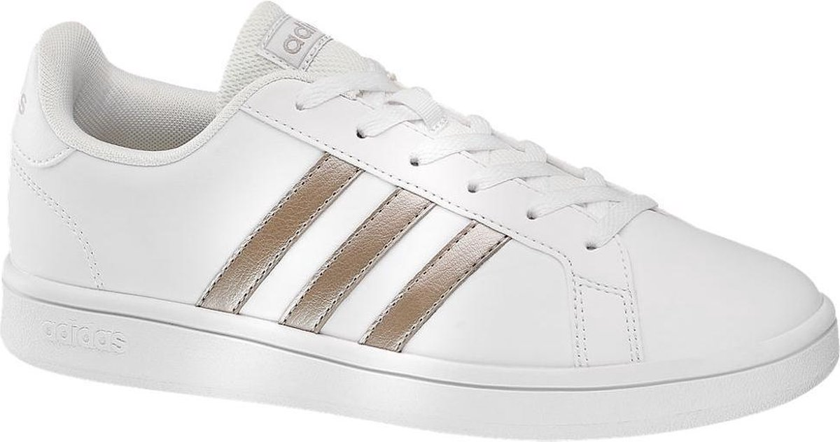 adidas Dames Witte Grand Court Base - Maat 36 2/3