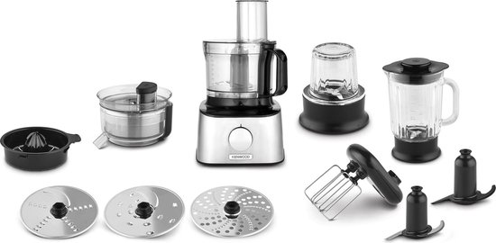 Kenwood Multipro Compact FDM307SS - Foodprocessor