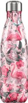 Chilly's 500 ml fles Flamingo Chilly's 500 ml fles Flamingo