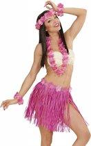 Hawaii Rokje Set Roze 5 delig