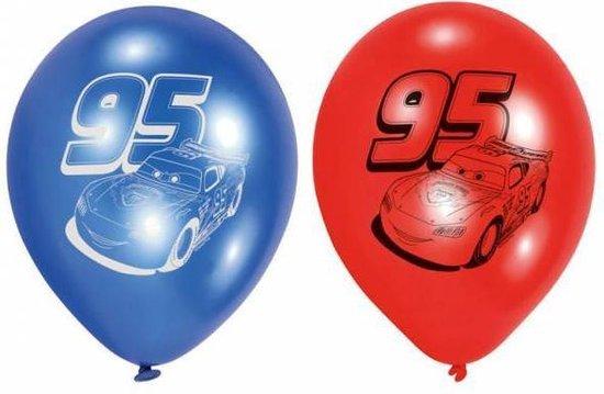 Cars Ballonnen 23cm 6st