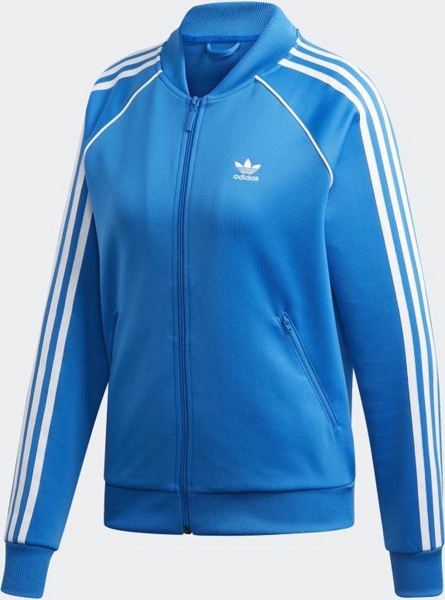 bol.com | adidas SST TT Dames Sportjas - Bluebird - Maat 36