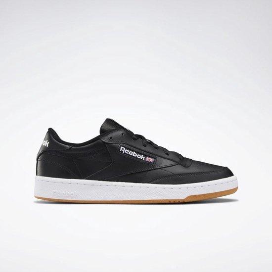 Reebok Club C 85 Heren Sneakers - Black Gum - Maat 47 2/3
