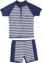 Playshoes UV-zwemsetje Kinderen Maritime - Blauw - maat 74/80