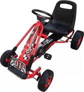 vidaXL - Skelter F1 Junior rood 90255