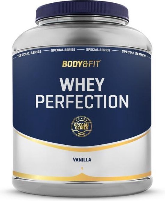 Body & Fit Whey Perfection Special Series - Whey Protein / Proteine Shake - 2270 gram - Vanille